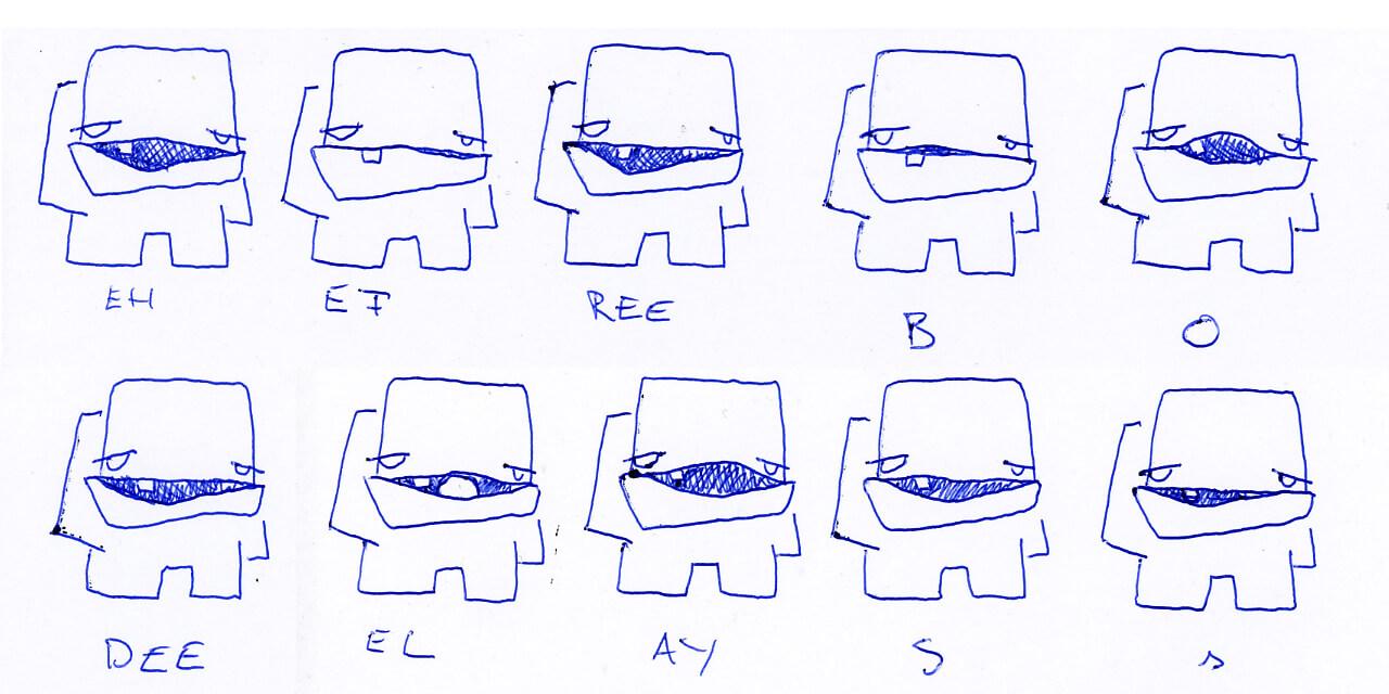 Lipsync Frames