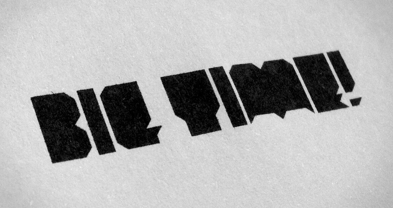 Big Time - Font