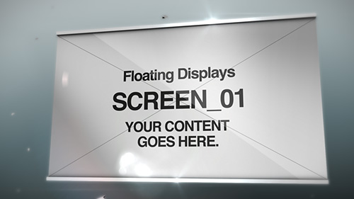Floating Displays - 1